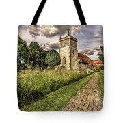 Bucklebury Parish Church Berkshire Tote Bag