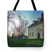 Buckman Tavern At Sunset Tote Bag