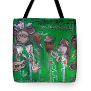 Buckner Funken Jazz Tote Bag