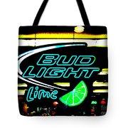 Bud Light Lime Tweeked Tote Bag