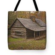 Bud Ogle Cabin Fall  Tote Bag