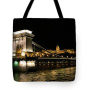 Chain Bridge And  Buda Castle  Tote Bag
