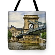 Budapest - Chain Bridge Tote Bag