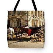 Vienna Buggy Man Tote Bag