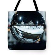 Budapest Globe - City Park Ice Rink Tote Bag