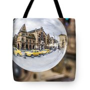 Budapest Globe - Great Market Hall Tote Bag