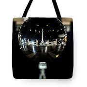 Budapest Globe - Heroes' Square Tote Bag