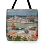 Budapest Overview Tote Bag