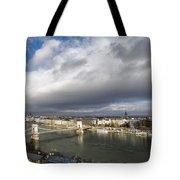 Budapest Panorama Tote Bag