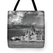 Budapest Parliament From The Chain Bridge Tote Bag