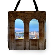 Budapest Parliament From The Fishermans Bastion Tote Bag