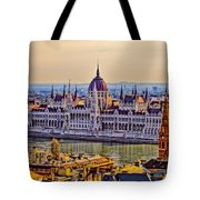 House Of The Nation Tote Bag