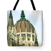 Budapest Parliment Tote Bag
