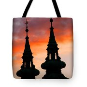 Budapest Sunset Tote Bag