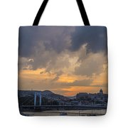 Budapest View Tote Bag
