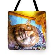 Budda Sleep Tote Bag