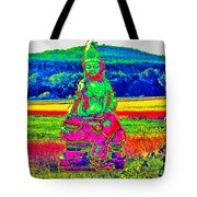 Buddha Dreaming Tote Bag