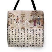 Buddha: Early Life Tote Bag