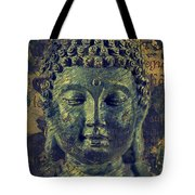 Buddha End Of Suffering Tote Bag