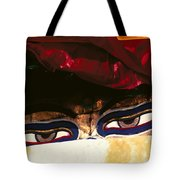 Buddha Eyes Tote Bag