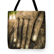 Buddha Hand Tote Bag by Adrian Evans