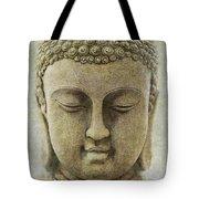 Buddha Head Tote Bag by M Montoya Alicea