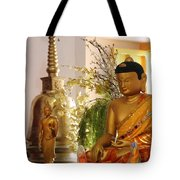 Buddha In India Tote Bag
