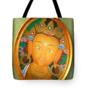 Buddha Mirror Tote Bag