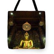 Buddha Sitting Tote Bag