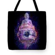 Buddha Spinning In A Merkaba Tote Bag