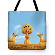 Buddha Symbol Tote Bag