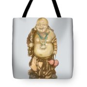 Buddha Tote Bag by TortureLord Art