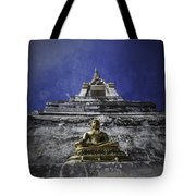Buddha Watching Over Tote Bag