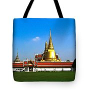 Buddhaist Temple Tote Bag
