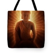 Buddhas Enlightenment Tote Bag