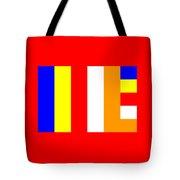 Buddhism Flag Tote Bag