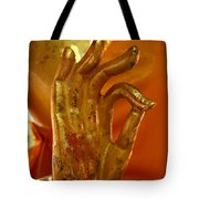 Buddhism Symbols Tote Bag