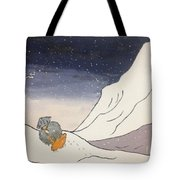 Buddhist Cleric Nichiren And Bleak Winter In Exile Tote Bag