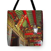 Nord Hoi Temple Ceiling Tote Bag