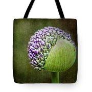Budding Allium Tote Bag
