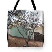 Budding Fruit Tree Tote Bag