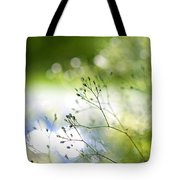 Budding Plant Tote Bag