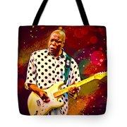Buddy Guy Portrait Tote Bag