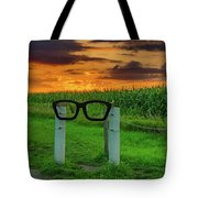 Buddy Holly Glasses Tote Bag