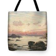 Bude Sands At Sunset Tote Bag by John Brett