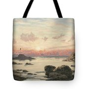 Bude Sands At Sunset Tote Bag by John Brett