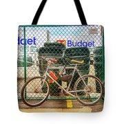 Budget Bicycle Tote Bag