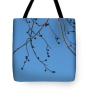 Buds And The Blue Sky Tote Bag