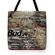 Budweiser Wood Art 5c Tote Bag