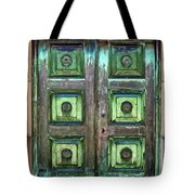 Buenos Aires Church Crypt Door Tote Bag